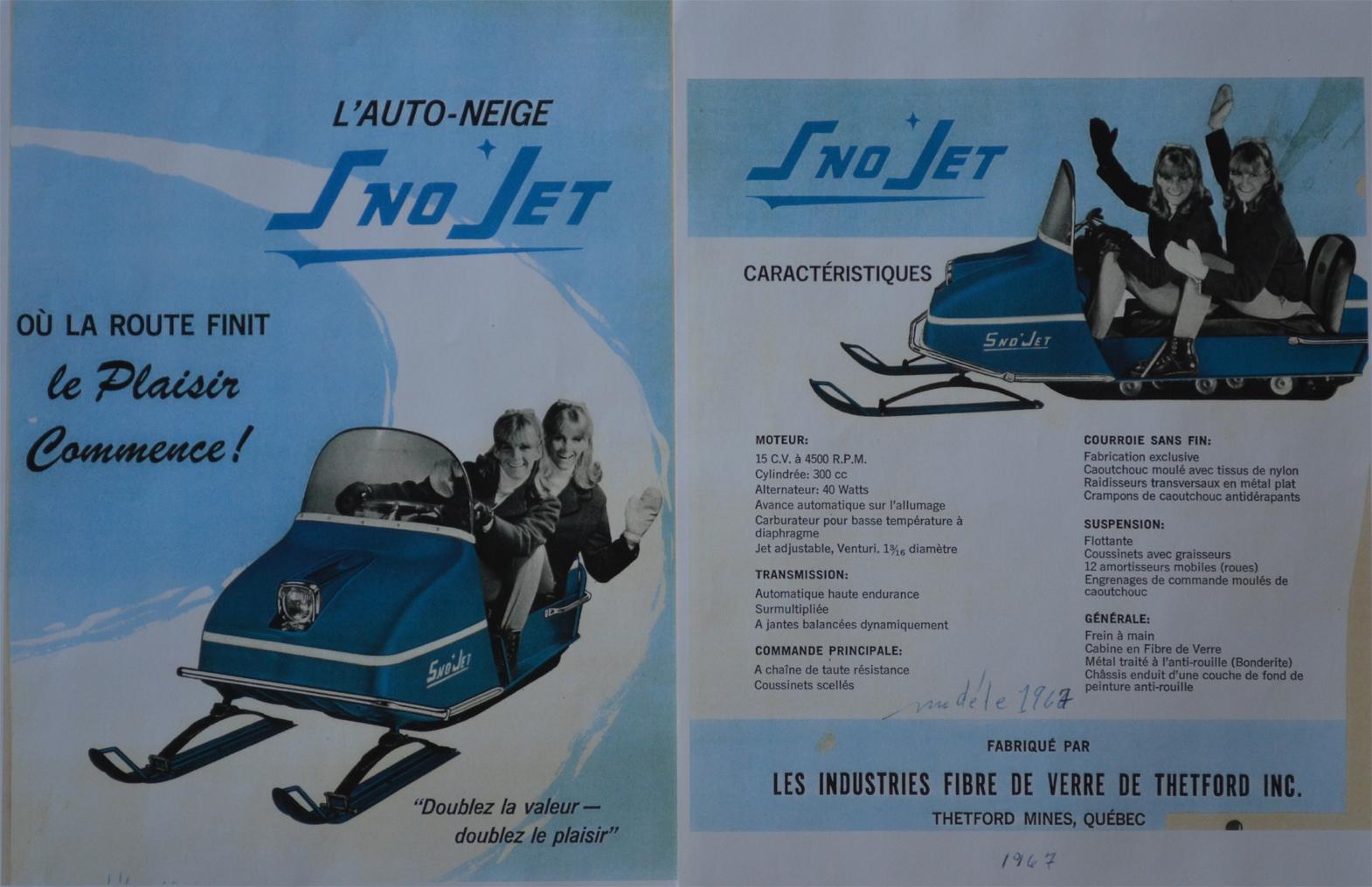 1967 Sno*Jet Ad ...